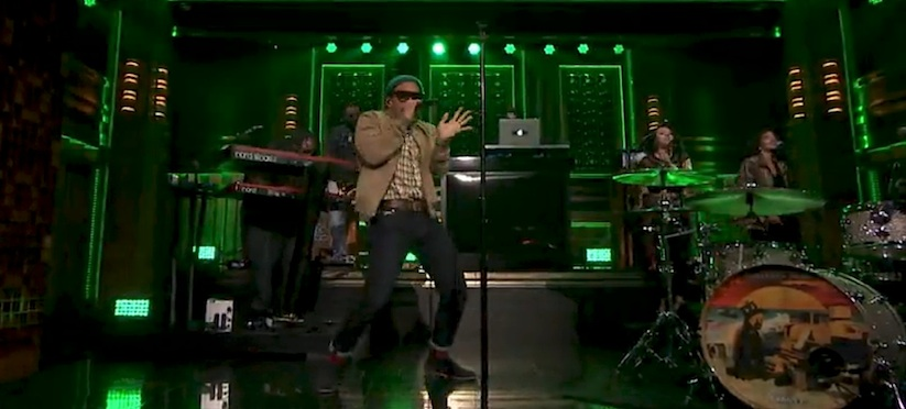 Anderson Paak Come Down Jimmy Fallon TI WHUDAT