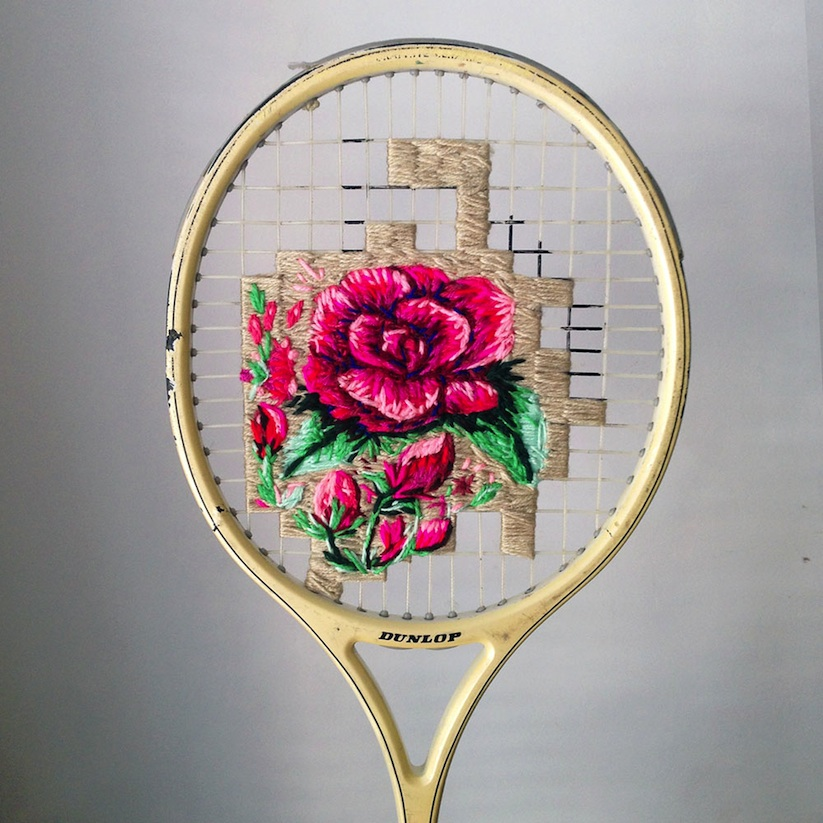 Embroidered_Artworks_on_Sneakers_and_Rackets_by_Danielle_Clough_2016_07