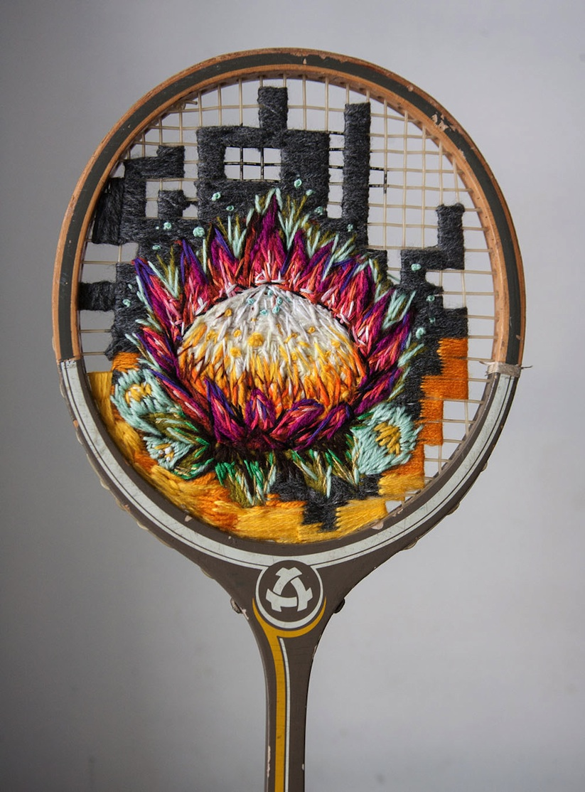 Embroidered_Artworks_on_Sneakers_and_Rackets_by_Danielle_Clough_2016_08