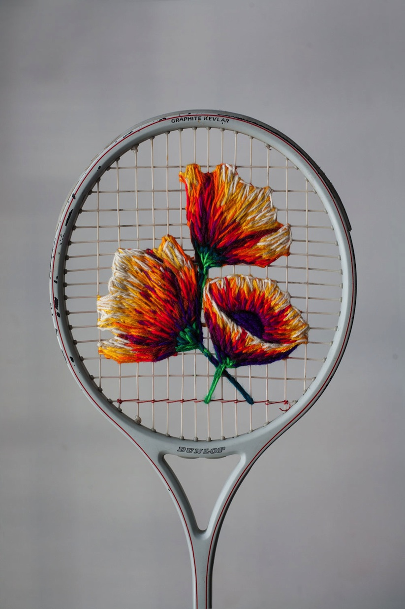 Embroidered_Artworks_on_Sneakers_and_Rackets_by_Danielle_Clough_2016_10