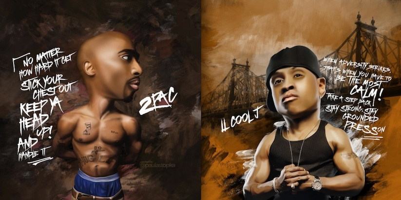 Living_Legends_Caricatures_of_Hip_Hop_Icons_by_paula_stopka_2016_03