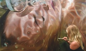 Aqua_Great_Realistic_Underwater_Paintings_by_Reisha_Perlmutter_2016_header