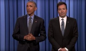 Barack Obama Jimmy Fallon Slow Jam The News Video WHUDAT
