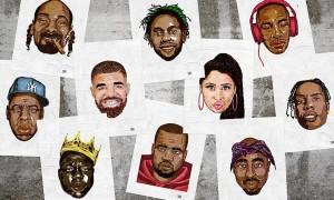 Hip Hop heads by Delano Limoen BB WHUDAT
