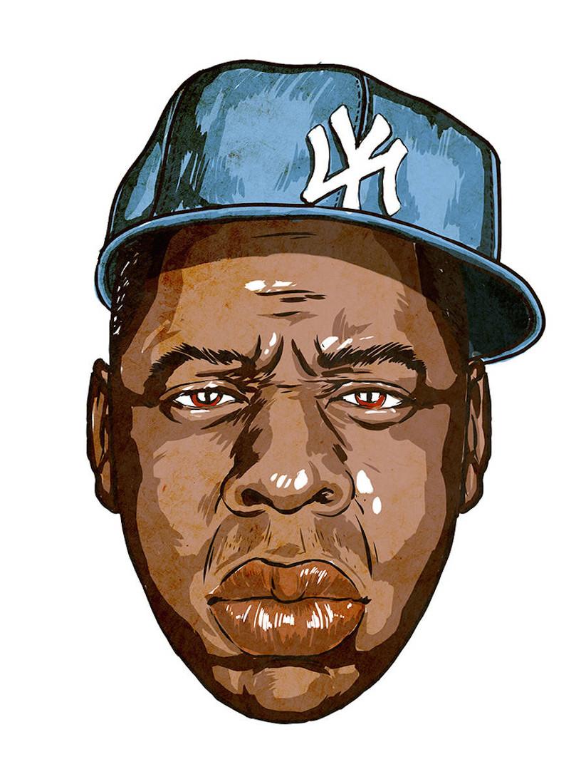 Jay Z Head WHUDAT