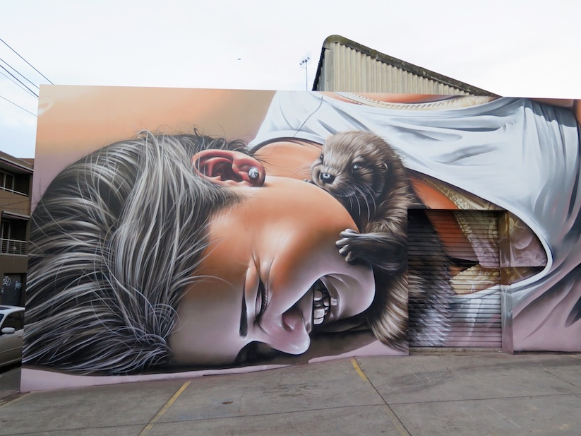 Otters_Awesome_Mural_by_Street_Artist_Smug_One_in_Melbourne_Australia_2016_02