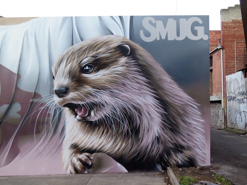 Otters_Awesome_Mural_by_Street_Artist_Smug_One_in_Melbourne_Australia_2016_04