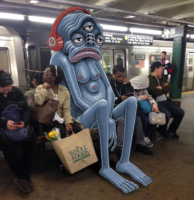 Subway_Doodles_Awesome_Monsters_Illustrated_into_NYC_s_Everyday_Life_2016_01