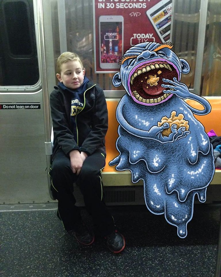 Subway_Doodles_Awesome_Monsters_Illustrated_into_NYC_s_Everyday_Life_2016_06