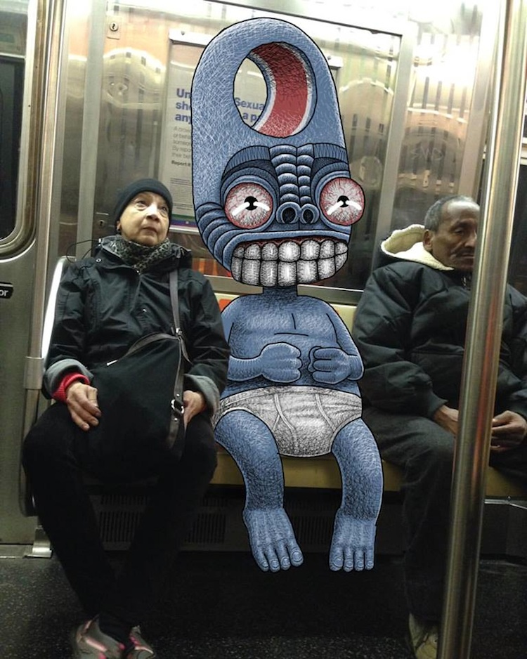 Subway_Doodles_Awesome_Monsters_Illustrated_into_NYC_s_Everyday_Life_2016_09