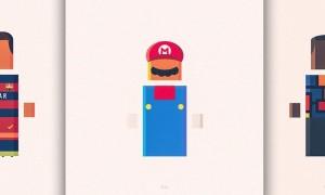 Anybuddy_Minimal_Geometric_Illustrations_by_Kareem_Magdi_2016_header