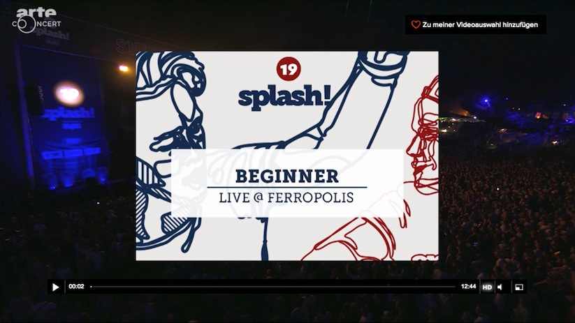 Beginner live at Splash 2016 Player WHUDAT
