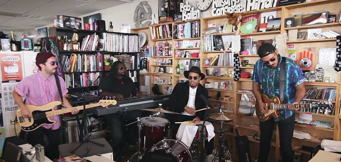 Anderson Paak Free Nationals Tiny Desk Concert Video WHUDAT
