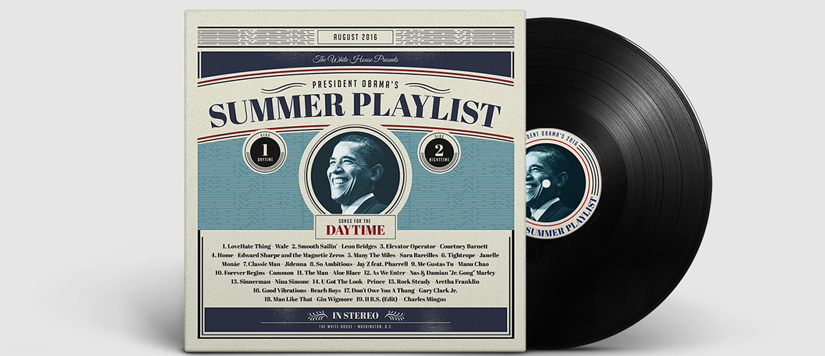 Barack Obama Summer Playlist 2016 Day2 WHUDAT