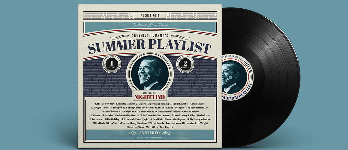 Barack Obama Summer Playlist 2016 Night2 WHUDAT