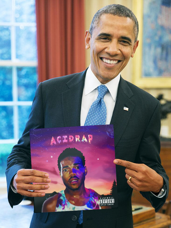Barrack Obama Summer Playlist Portrait2016 WHUDAT