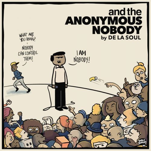 De La Soul The Anonymous Nobody Cover WHUDAT