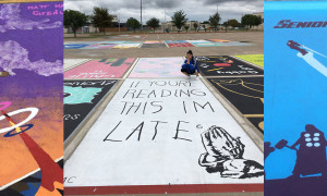 High-School-Seniors-paint-own-Parking-Spaces