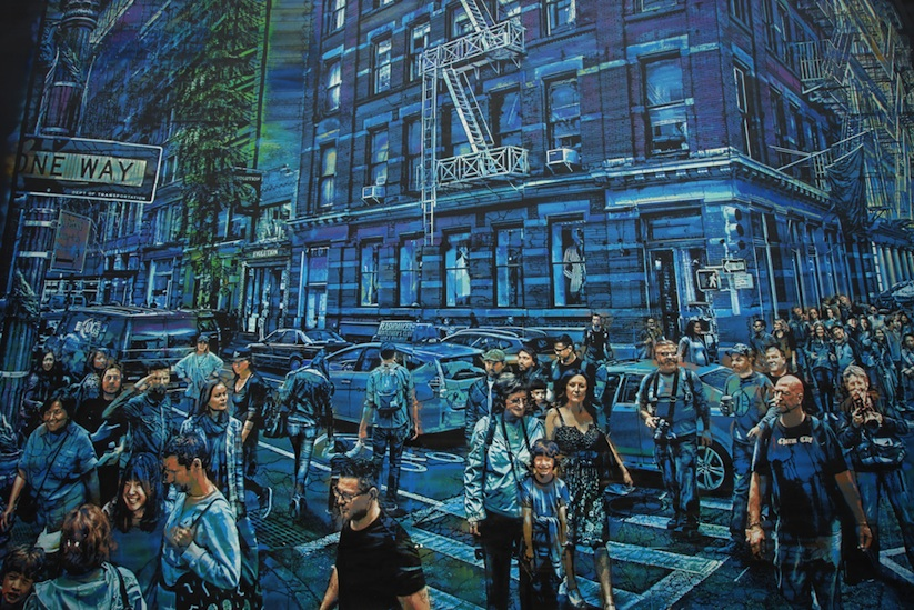 The story of my life awesome mural by street artist for Bowery mural nyc