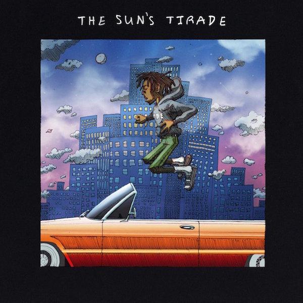 Isaiah Rashad The Suns Tirade Cover WHUDAT