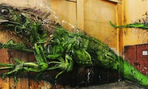 Yuwana_3D_Street_Sculpture_by_Bordalo_Segundo_in_San_Nicolas_Aruba_2016_header