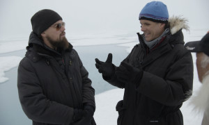 In the Arctic- Leonardo Interview with Enric Sala about meltwater.  For two years, Leonardo DiCaprio has criss-crossed the planet in his role as UN messenger of Peace on Climate Change. This film, executive produced by Brett Ratner and Martin Scorsese, follows that journey to find both the crisis points and the solutions to this existential threat to human species.  © 2016 RatPac Documentary Films, LLC and Greenhour Corporation, Inc.  All rights reserved.
