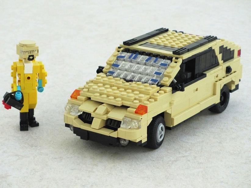 Lego Classic Car Instructions