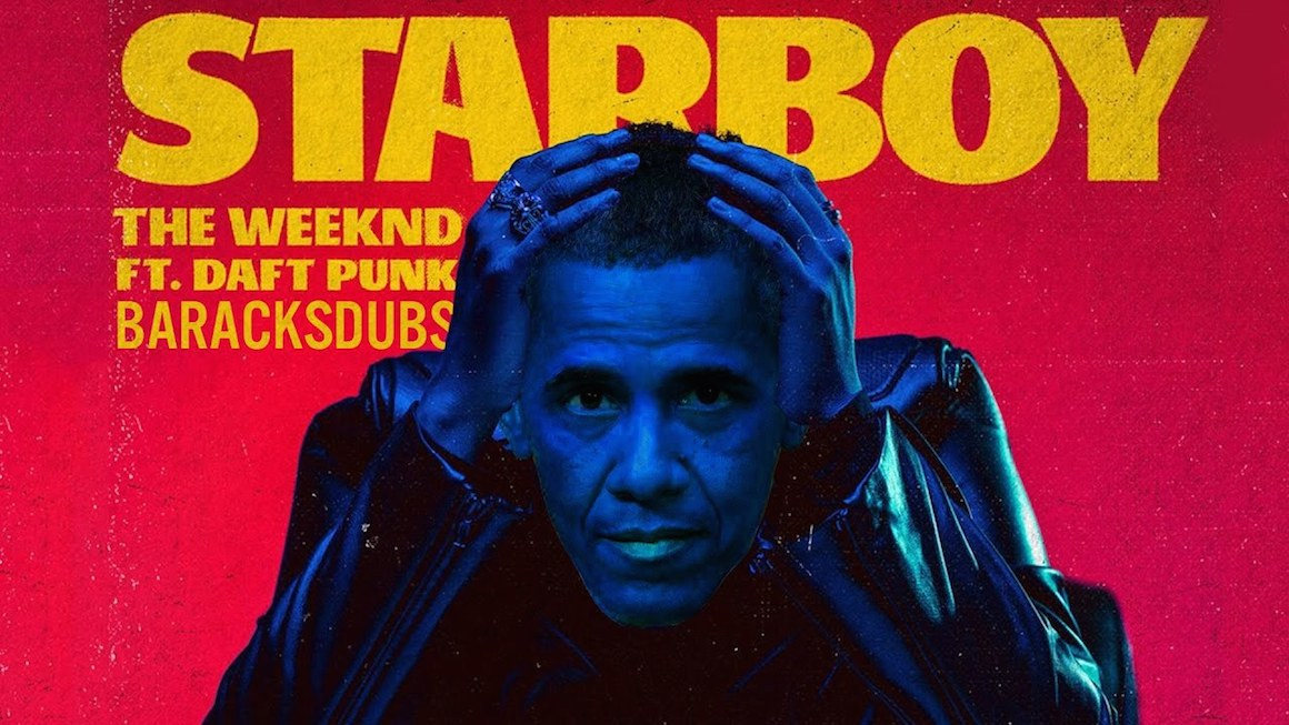 Barack Obama Starboy The Weeknd Barackdubs WHUDAT