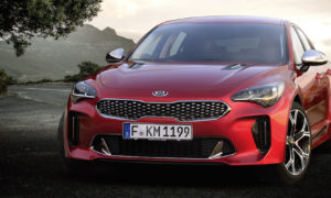 KIA Stinger Media Event