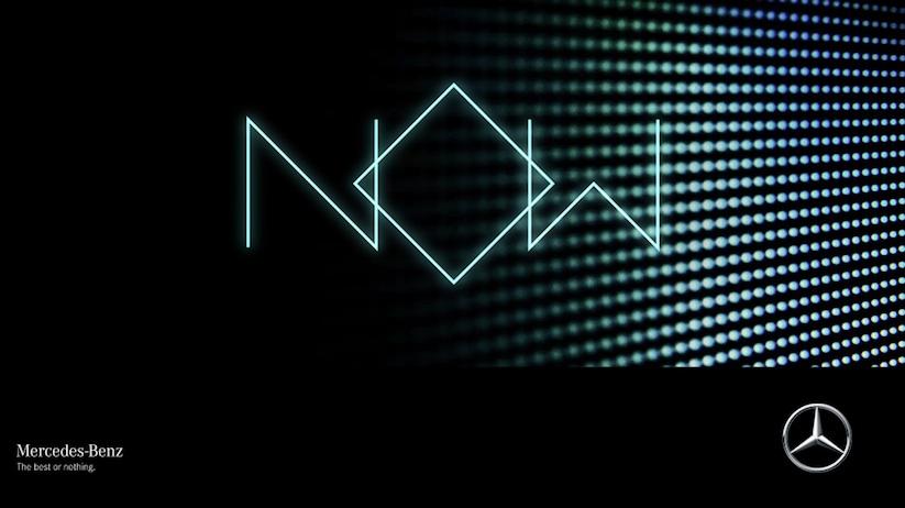 Mercedes Now Experience als Livestream auf YouTube ; Mercedes Now Experience via livestream on YouTube;
