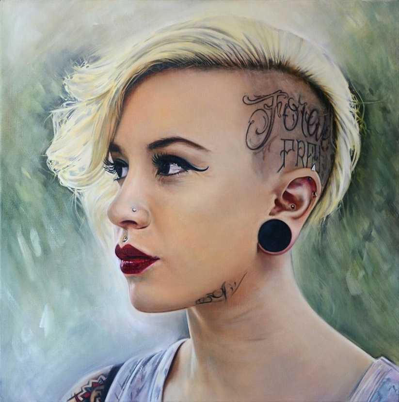 hyperrealistic_portrait_paintings_of_tattooed_girls_by_artist_philip_munoz_2016_02