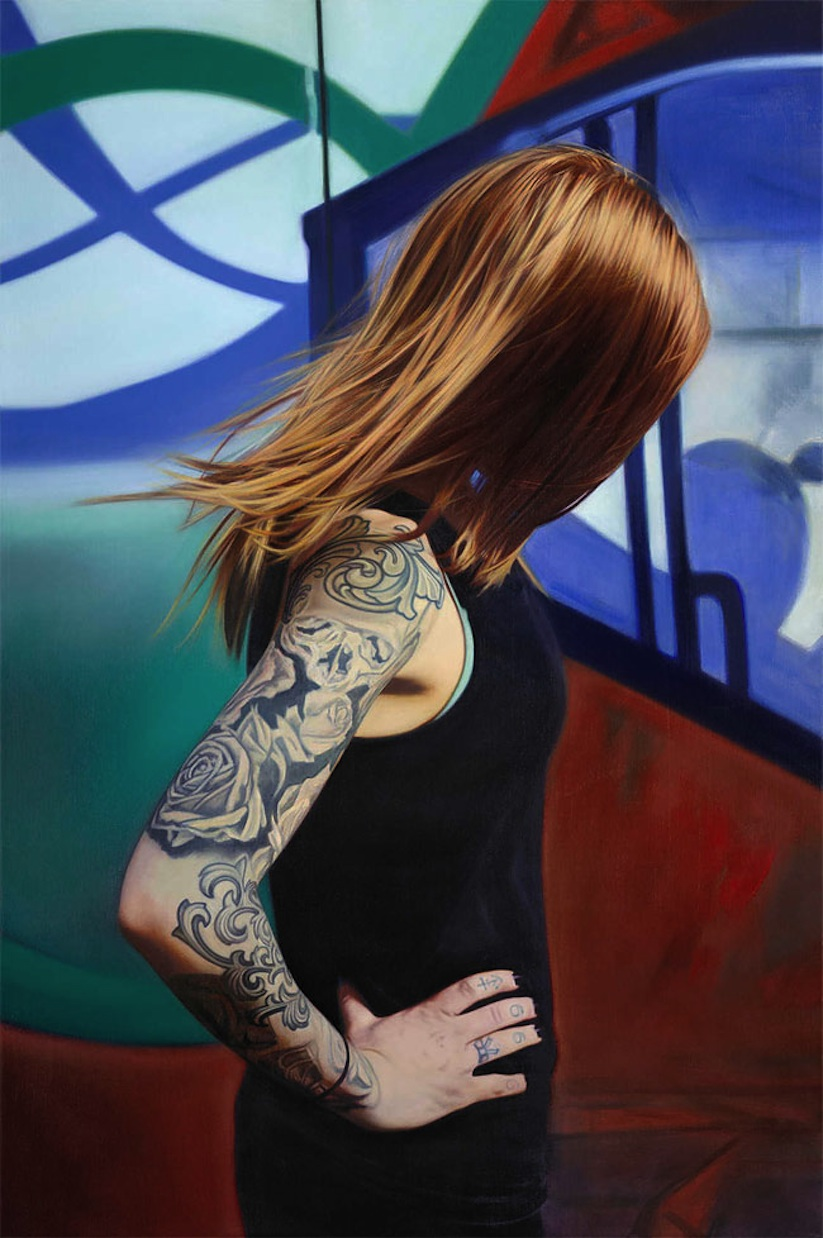 hyperrealistic_portrait_paintings_of_tattooed_girls_by_artist_philip_munoz_2016_11