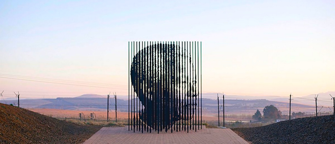 Nelson Mandela Memorial By Artist Marco Cianfanelli In