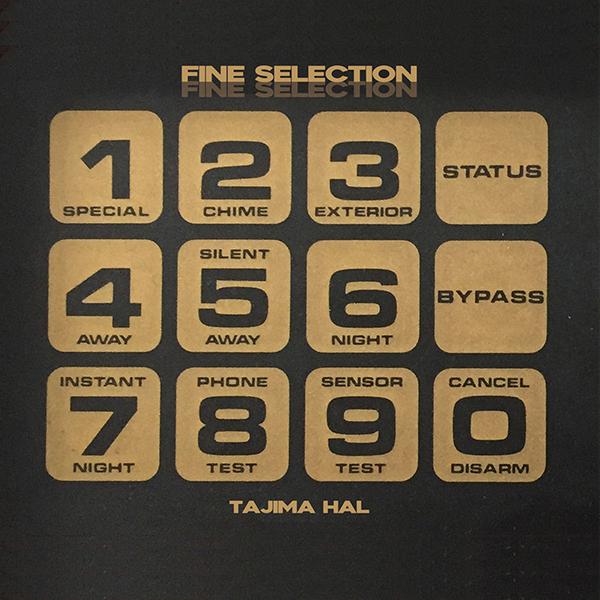 Tajima Hal Fine Selection Cover WHUDAT