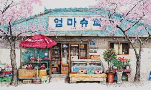 Charming_Paintings_of_Convenience_Stores_in_South_Korea_by_Me_Kyeoung_Lee_2017_header