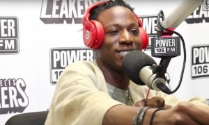 Joey Badass Freestyle Leakers Power 106 FM WHUDAT