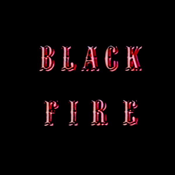 Ohbliv Black Fire Cover WHUDAT