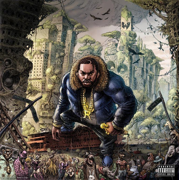 Raekwon The Wild Cover WHUDAT