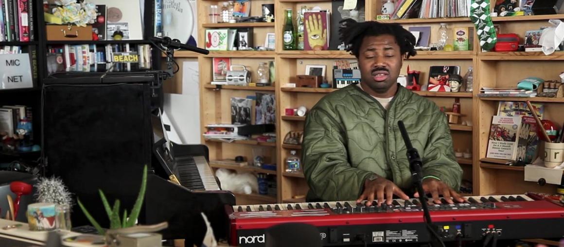 Sampha NPR Tiny Desk Concert Video WHUDAT