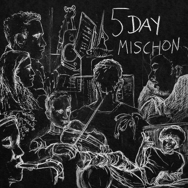Tom Misch 5 Day Mischon Cover WHUDAT