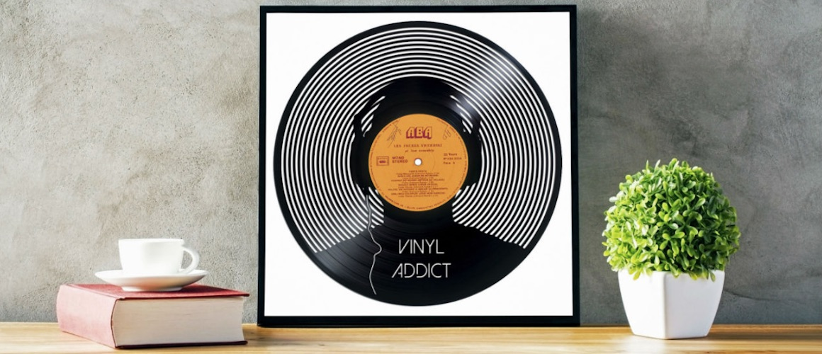 vinyl record art kunst kolletiv aus frankreich recycelt zerkratzte platten. Black Bedroom Furniture Sets. Home Design Ideas