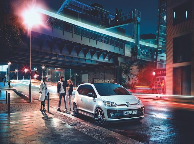 Kraftpaket im Kleinformat: Der neue up! GTI von Volkswagen ...