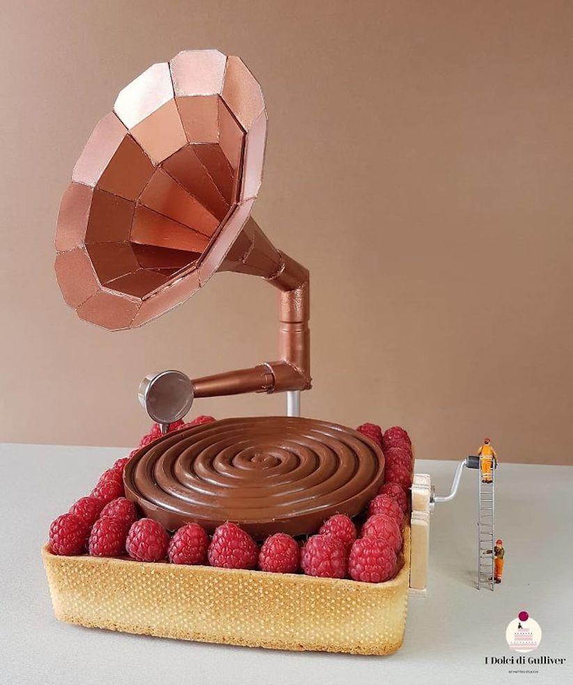 Sensational Kulinarische Mini Installationen Von Konditormeister Matteo Stucchi Funny Birthday Cards Online Overcheapnameinfo
