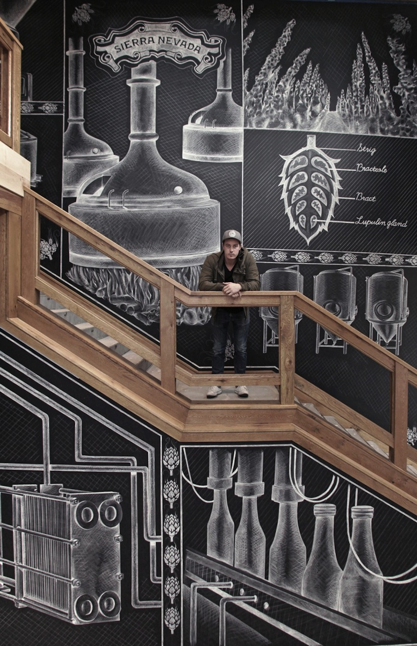 Amazing_Chalk_Mural_At_A_Beer_Brewery_by_Ben_Johnston_2014_01