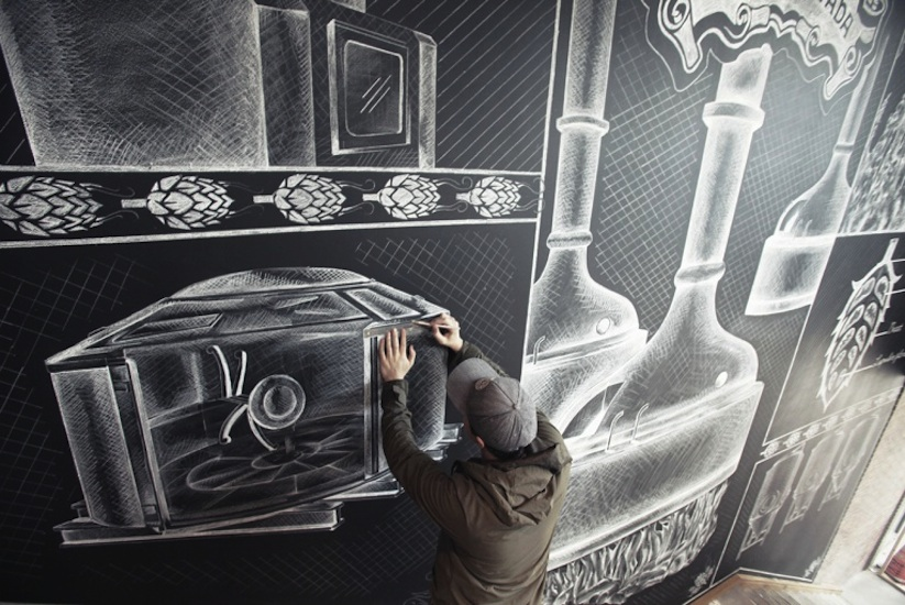 Amazing_Chalk_Mural_At_A_Beer_Brewery_by_Ben_Johnston_2014_05
