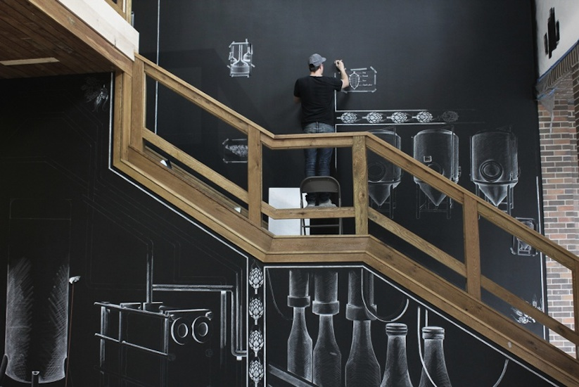 Amazing_Chalk_Mural_At_A_Beer_Brewery_by_Ben_Johnston_2014_06