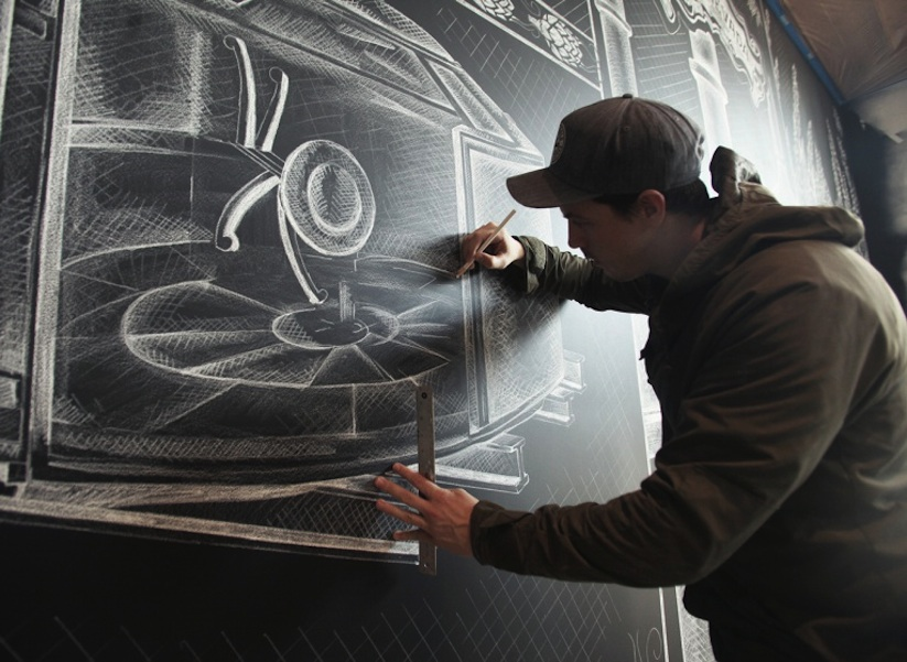 Amazing_Chalk_Mural_At_A_Beer_Brewery_by_Ben_Johnston_2014_07