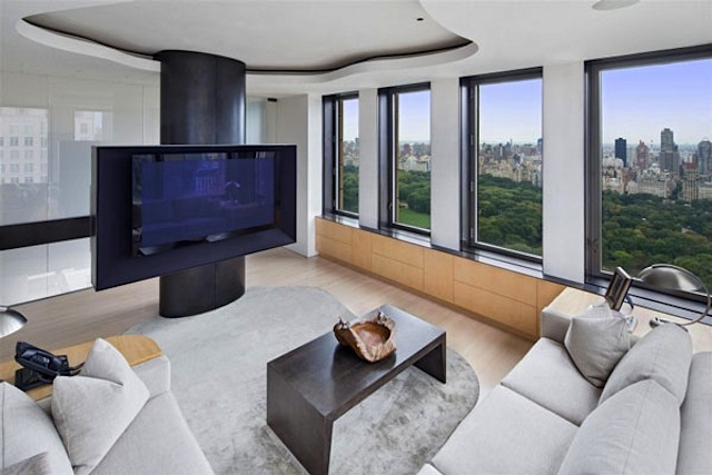 a residential skyscraper called park laurel a stunning apartment with 360 degrees overview upon the horizon of manhattan is out for sale
