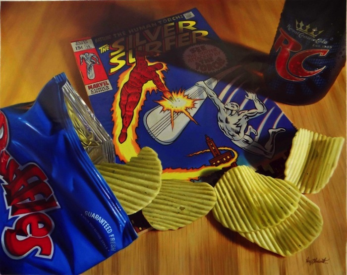 Hyper_Realistic_Paintings_Of_Old_School_Snacks_And_Comics_2014_05