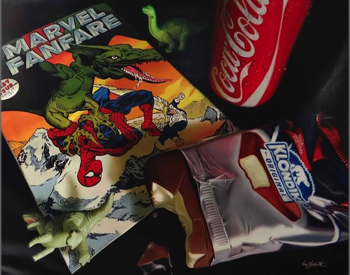 Hyper_Realistic_Paintings_Of_Old_School_Snacks_And_Comics_2014_06
